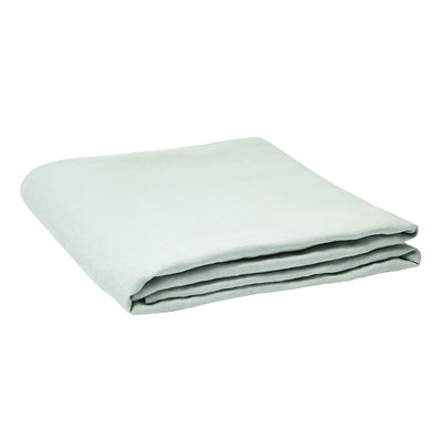 Linen Flat Sheet Moonlight