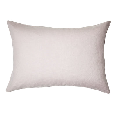 Linen Standard Pillowcase Set Lilac