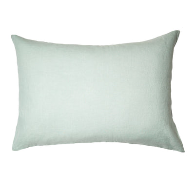 Linen Standard Pillowcase Set Moonlight