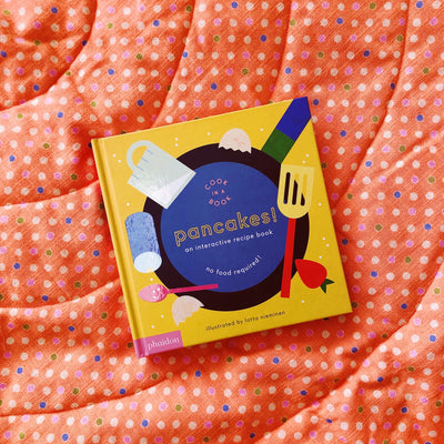 pancakes interactive cook book for kids