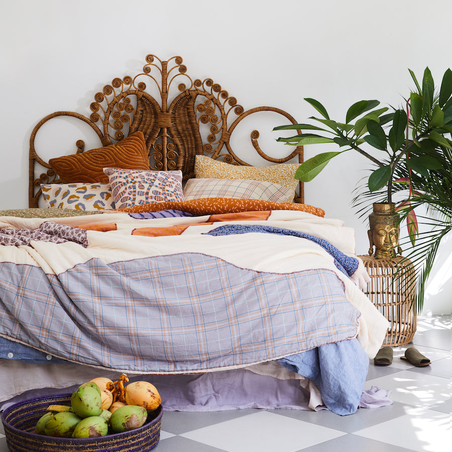 Pandawa Patchwork Bedcover