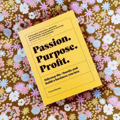 Passion. Purpose. Profit. Book - Sage x Clare