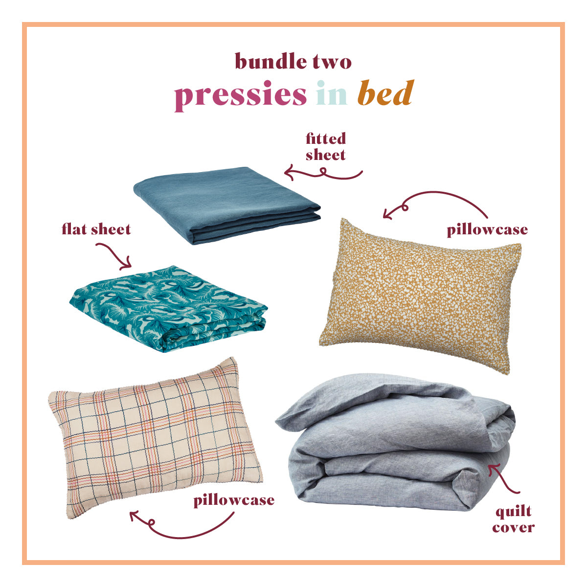 Pressies In Bed Bundle - Queen