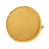 Rylie Round Cushion Mustard