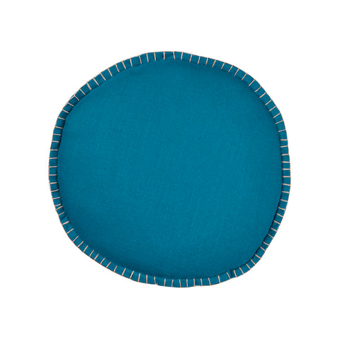 Rylie Round Cushion - Peacock