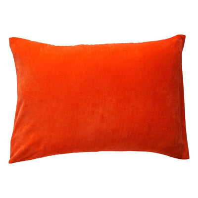Simo Velvet Pillowcase in Lobster