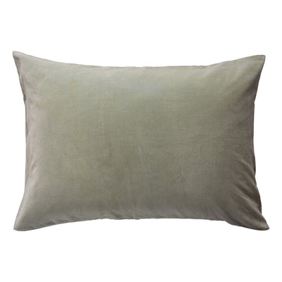 Simo Velvet Pillowcase in Saltbush