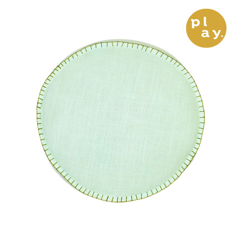 Rylie Round Cushion - Powder
