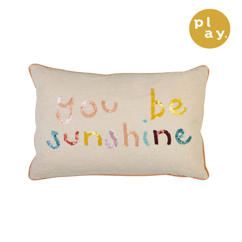 Sol Sequin Cushion