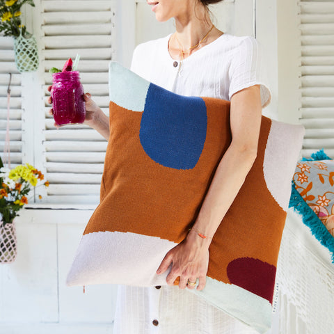 Suki Knit Cushion