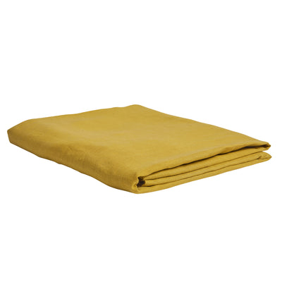 Linen French Flax Fitted Sheet - Sundance