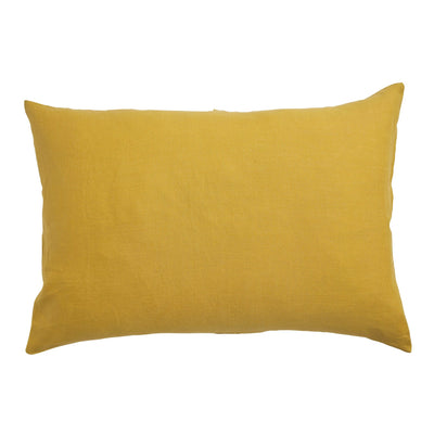 Linen French Flax Standard Pillowcase Set - Sundance