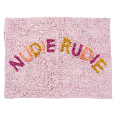 Tula Nudie Rudie Cotton Multicolour Bath Mat Alegria