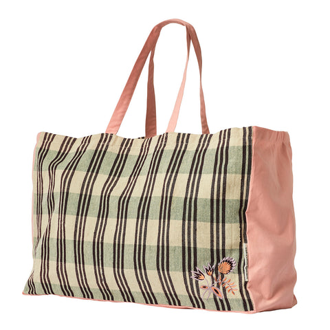 Umbra Ticking Tote Bag