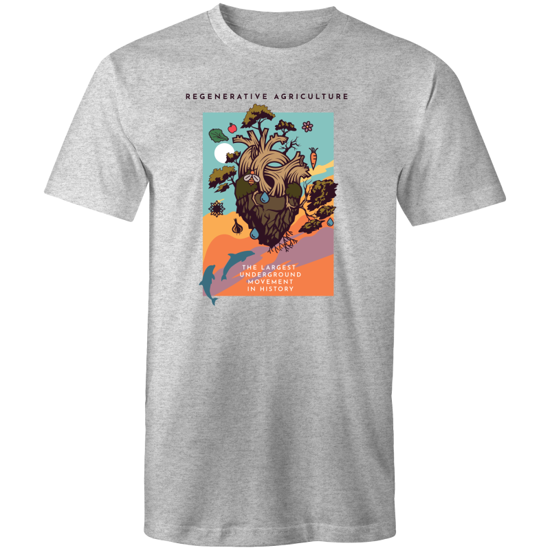 'Poster-grey' Sportage Surf - Mens T-Shirt