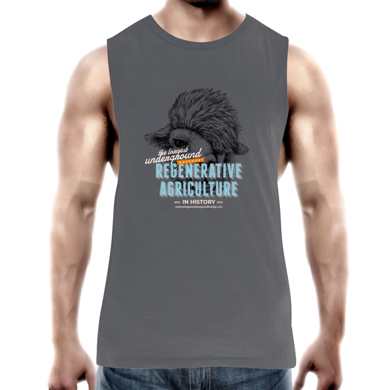 'Lamacorn' AS Colour Barnard - Mens Tank Top Tee