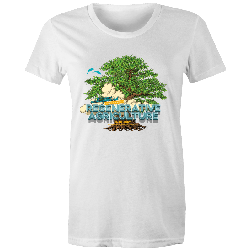 'Tree cloud' AS Colour - Women's Maple Tee