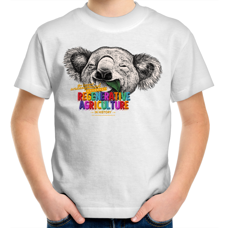 'Koala' AS Colour Kids Youth Crew T-Shirt