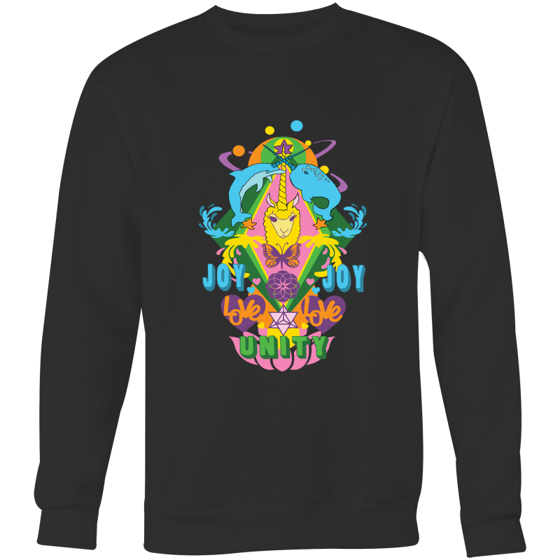 'Lama' AS Colour Box - Crew Neck Jumper Sweatshirt