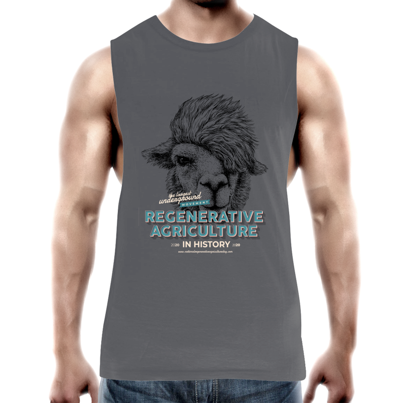 Llamalove AS Colour Barnard - Mens Tank Top Tee