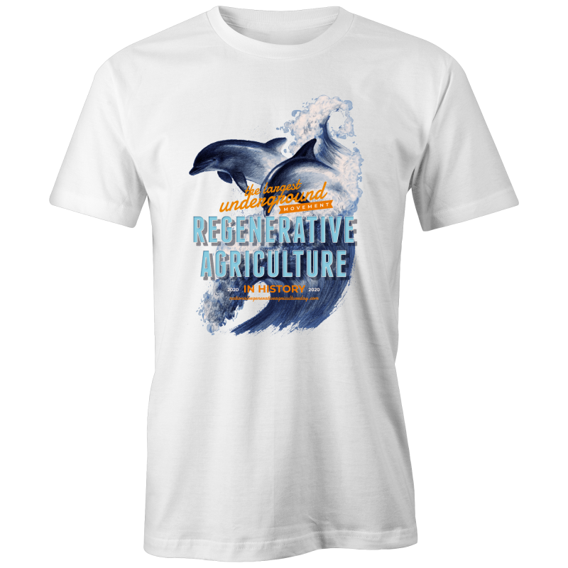 'Dolphins' AS Colour Paper - Lightweight Slim T-Shirt
