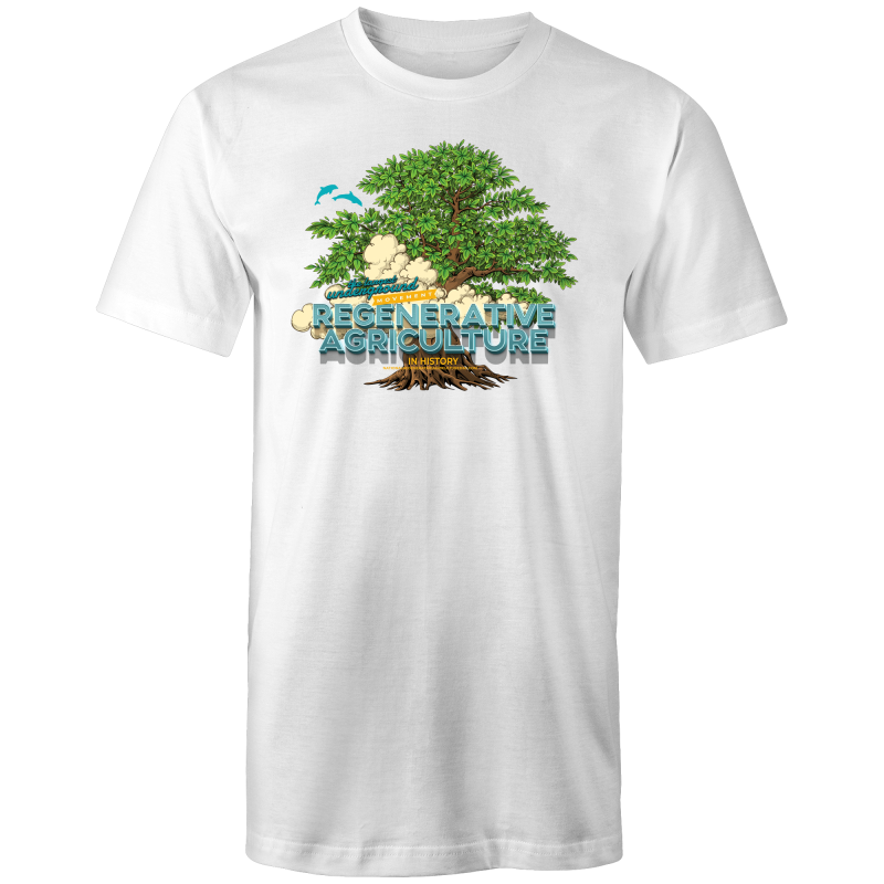 'Tree cloud' AS Colour - Tall Tee T-Shirt