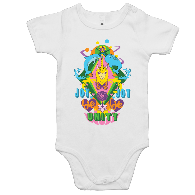 'Lama' AS Colour Mini Me - Baby Onesie Romper