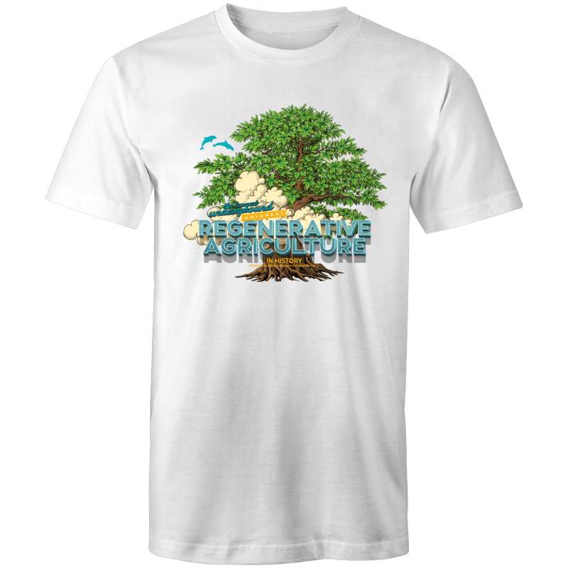 'Tree cloud' AS Colour Staple - Mens T-Shirt