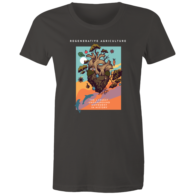 'Poster' Sportage Surf - Womens T-shirt