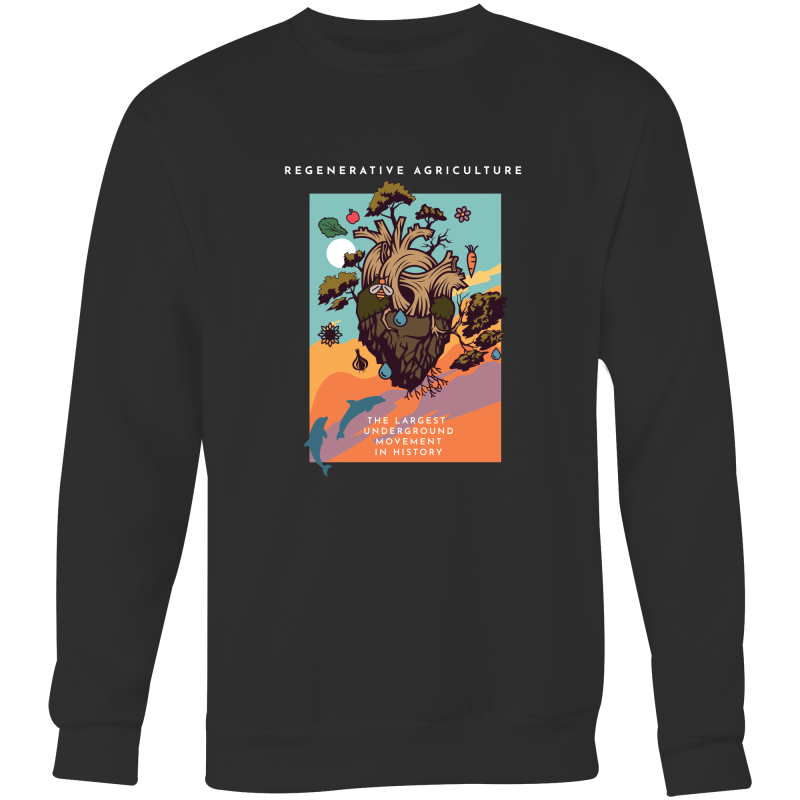 'Poster' AS Colour Box - Crew Neck Jumper Sweatshirt