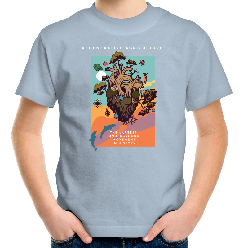 'Poster' Sportage Surf - Kids Youth T-Shirt