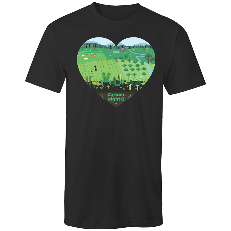 CARBONHEART -AS Colour - Tall Tee T-Shirt