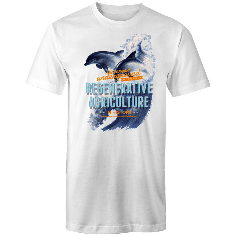 'Dolphins' AS Colour - Tall Tee T-Shirt