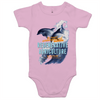' Dolphins' AS Colour Mini Me - Baby Onesie Romper