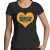 'Heart' AS Colour Mali - Womens Scoop Neck T-Shirt