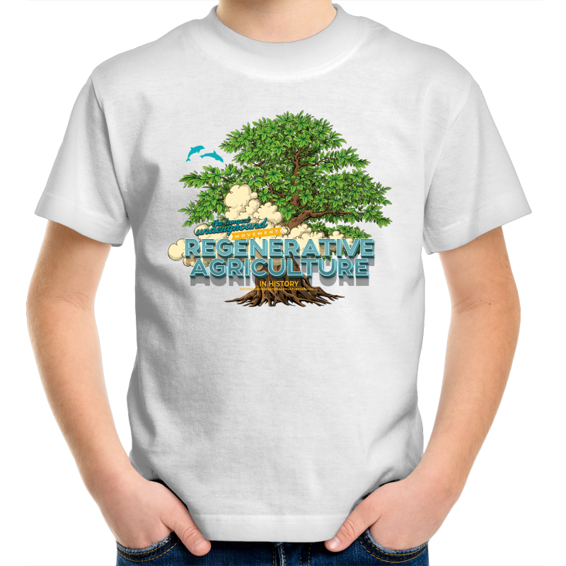 'Tree cloud'  Sportage Surf - Kids Youth T-Shirt