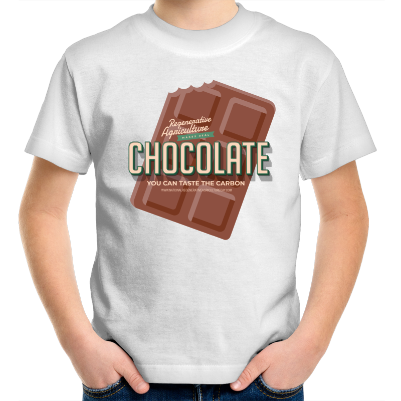'Choco' AS Colour Kids Youth Crew T-Shirt