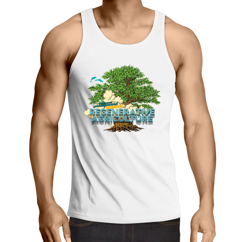 'Tree cloud' Sportage Summerset - Mens Singlet