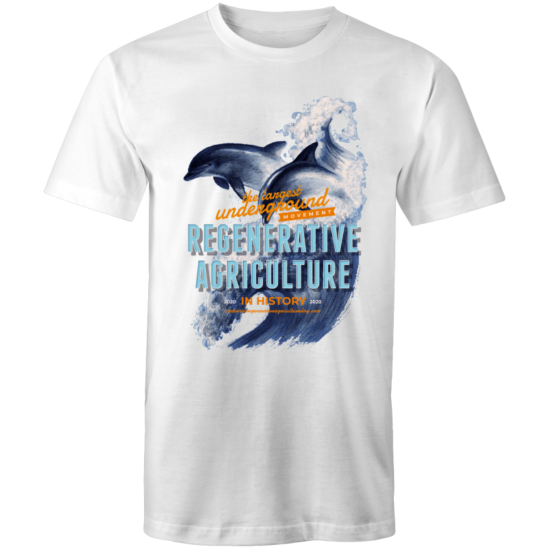 'Dolphins' AS Colour Staple - Mens T-Shirt