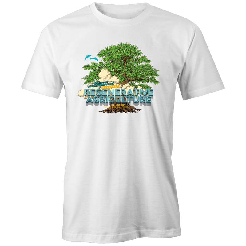 'Tree cloud' AS Colour Organic Tee