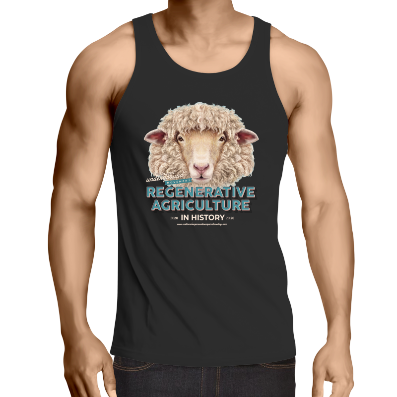 sheeplove AS Colour Lowdown - Mens Singlet Top