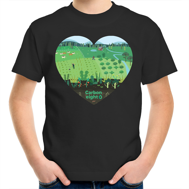 CARBONHEART - Sportage Surf - Kids Youth T-Shirt