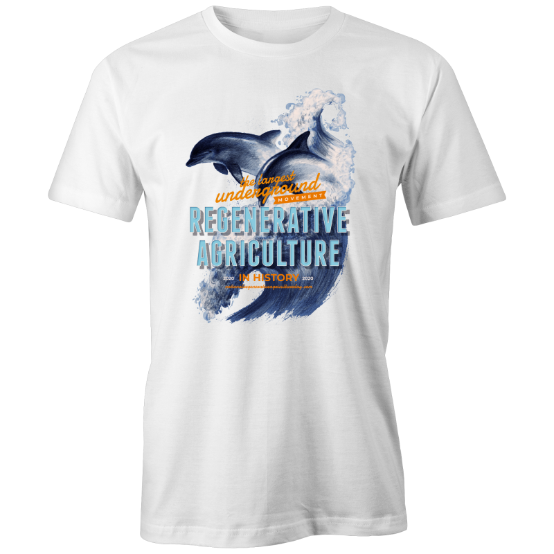 'Dolphins' AS Colour Organic Tee