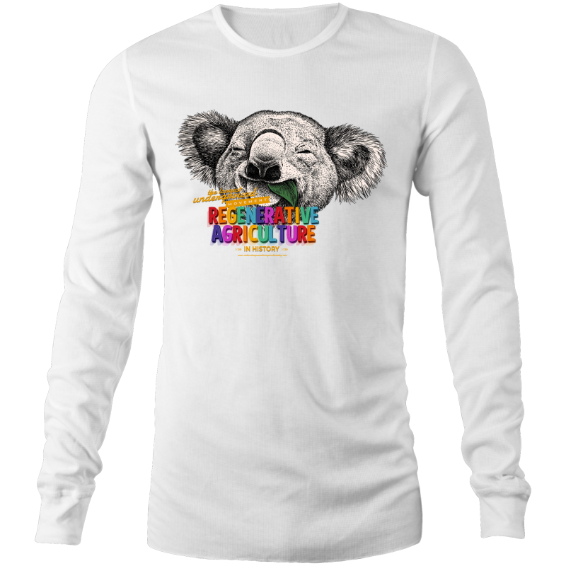 'Koala' AS Colour Base - Mens Long Sleeve T-Shirt