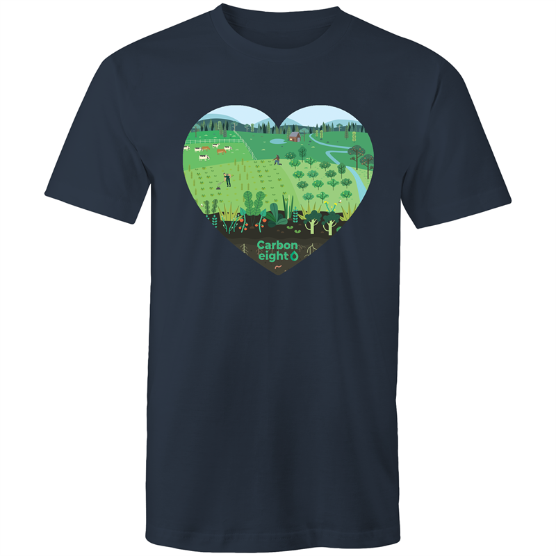 CARBONHEART - AS Colour Staple - Mens T-Shirt