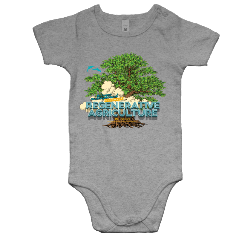 'Tree cloud' AS Colour Mini Me - Baby Onesie Romper