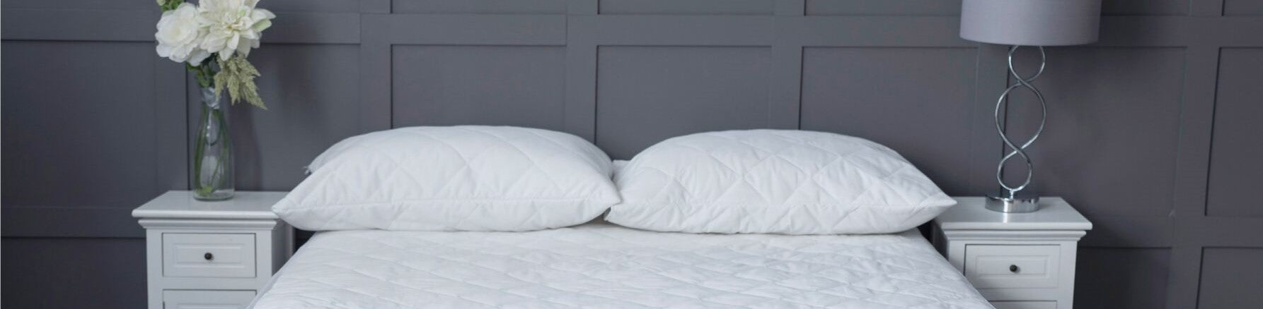 Cotton Touch Quilted Protectors - Standard & Waterproof