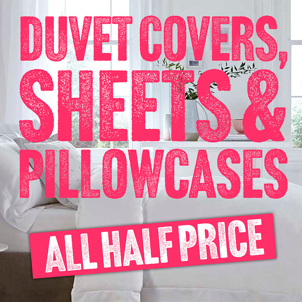 50% OFF BEDDING