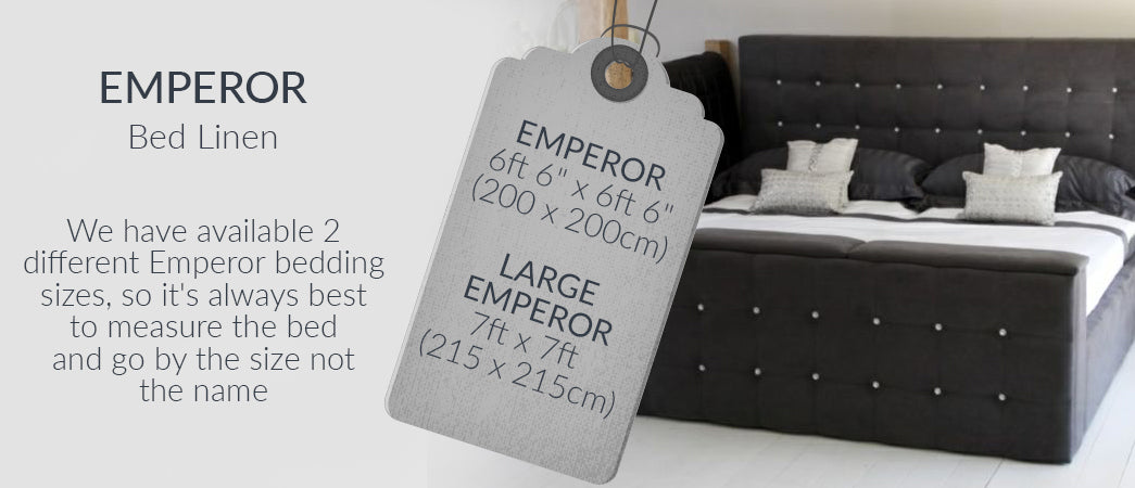 Emperor Bed Linen Emperor Sheets Emperor Quilt Covers