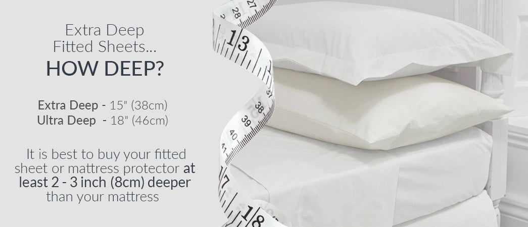 Extra Deep Fitted Sheets How Deep